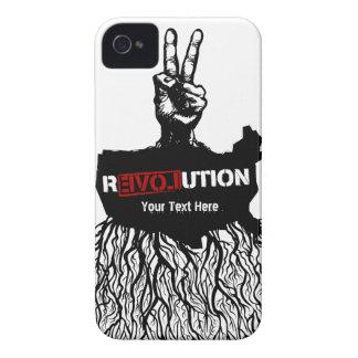 Amerikanischer Liebe-Revolutions-Propaganda-Fall Case-Mate iPhone 4 Hülle