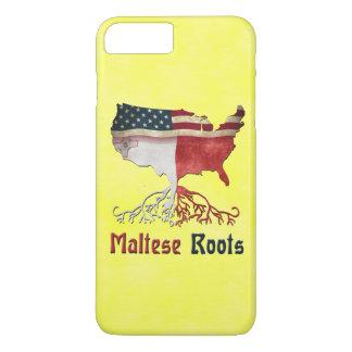 Amerikanischer maltesischer Wurzel-Telefon-Kasten iPhone 8 Plus/7 Plus Hülle