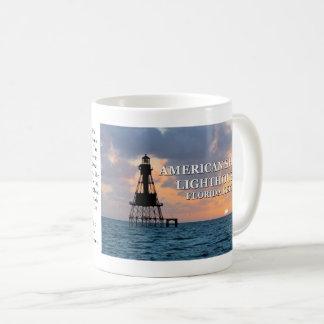 Amerikanischer Masse-Leuchtturm, Florida-Tasse Kaffeetasse