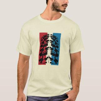 Amerikanischer Mountainbike-Reifen T-Shirt