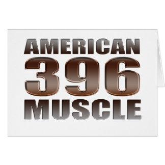 amerikanischer Muskel 396 Karte