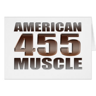 amerikanischer Muskel 455 Olds Karte