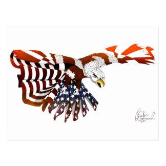 Amerikanischer Mut Postkarte