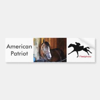 Amerikanischer Patriot Autoaufkleber