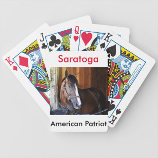 Amerikanischer Patriot Bicycle Spielkarten