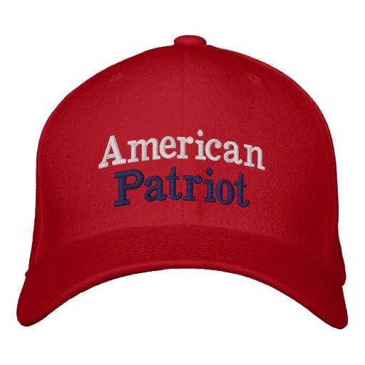 Amerikanischer Patriot R Bestickte Kappe