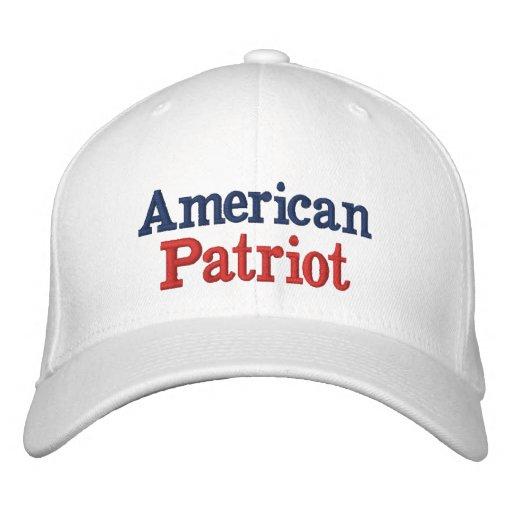 Amerikanischer Patriot W Bestickte Baseballmütze