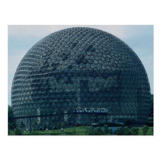 Amerikanischer Pavillon, Ausstellung 1967, Postkarte