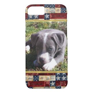 Amerikanischer Pitbull-Entwurf iPhone 7 Fall iPhone 8/7 Hülle