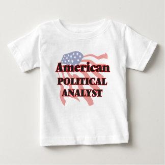 Amerikanischer politischer Analyst Hemden