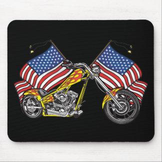 Amerikanischer Radfahrer-Chopper Mousepad