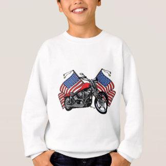 Amerikanischer Radfahrer Sweatshirt