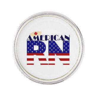 Amerikanischer RN Anstecknadel