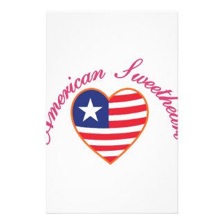 Amerikanischer Schatz Briefpapier
