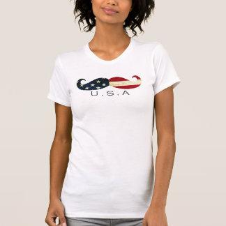 Amerikanischer Schnurrbart T-Shirt