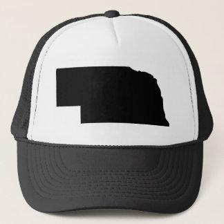 Amerikanischer Staat von Nebraska Truckerkappe