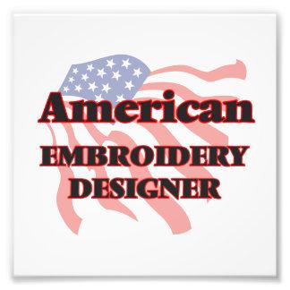 Amerikanischer Stickerei-Designer Kunstphoto