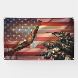 Amerikanischer Stolz Banner
