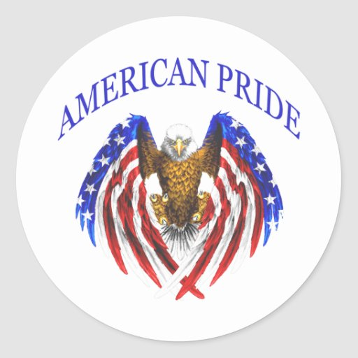 Amerikanischer Stolz Eagle Aufkleber