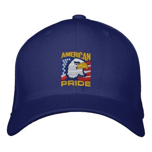 Amerikanischer Stolz FERB Bestickte Kappen