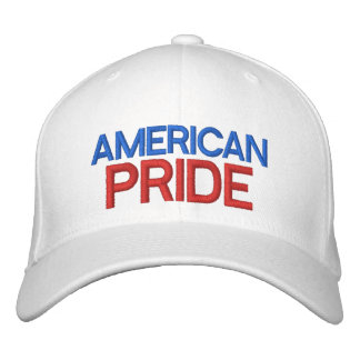 AMERIKANISCHER STOLZ - kundengerechte Bestickte Caps
