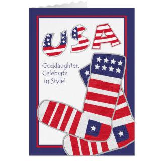 Amerikanischer Unabhängigkeitstag für Karte