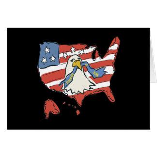 Amerikanischer Unabhängigkeitstag Grußkarte