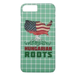 Amerikanischer ungarischer Wurzel-Telefon-Kasten iPhone 8 Plus/7 Plus Hülle