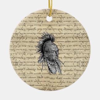 Amerikanischer Ureinwohner Keramik Ornament