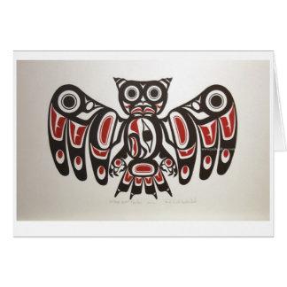 Amerikanischer Ureinwohner pazifische Karte