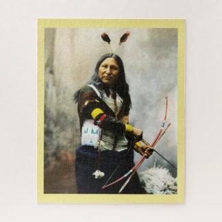 Amerikanischer Ureinwohner Puzzle