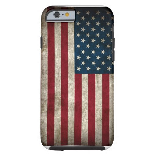 Amerikanischer USA-Flagge iPhone 6 Fall Tough iPhone 6 Hülle