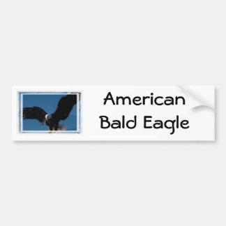 Amerikanischer Weißkopfseeadler Autoaufkleber