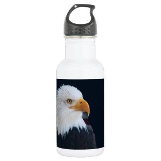 Amerikanischer Weißkopfseeadler Edelstahlflasche