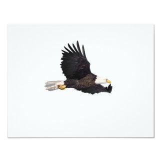 Amerikanischer Weißkopfseeadler 10,8 X 14 Cm Einladungskarte