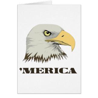 Amerikanischer Weißkopfseeadler für Merica Karte