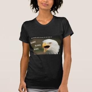 Amerikanischer Weißkopfseeadler mit Text T-Shirt
