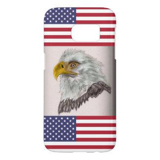 Amerikanischer Weißkopfseeadler-patriotische Kunst