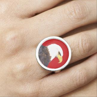 """""""Amerikanischer Weißkopfseeadler-"""" Ring"""
