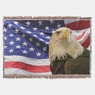 Amerikanischer Weißkopfseeadler und Decke