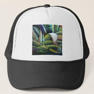 Amerikanischer Wüsten-Agaven-Kaktus durch Sharles Truckerkappe