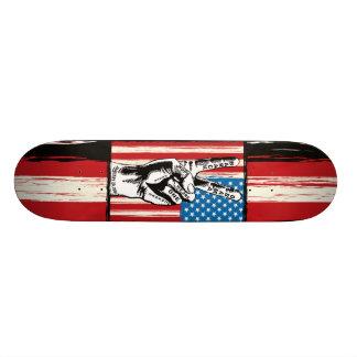 Amerikanisches FriedensSkateboard 19,1 Cm Old School Skateboard Deck