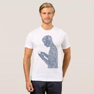 Amerikanisches Gebet 50/50 (weiß mit Baby) T-Shirt