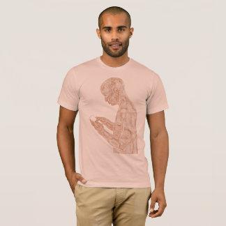 Amerikanisches Gebet (Pfirsich mit Orange) T-Shirt