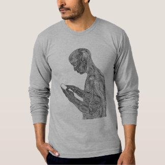 Amerikanisches Gebets-langer Hülsen-T - Shirt