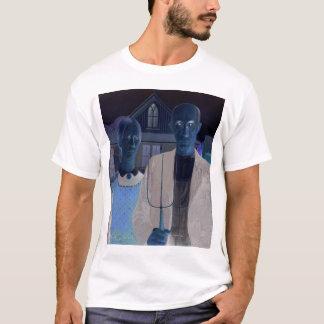 Amerikanisches gotisches WIEDER GEMISCHT T-Shirt