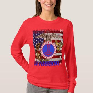 Amerikanisches heidnisches--Marinesoldaten T-Shirt