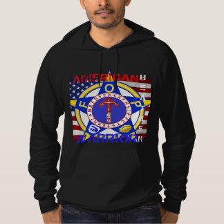 Amerikanisches heidnisches--Polizei Hoodie