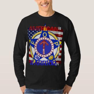 Amerikanisches heidnisches--Polizei T-Shirt