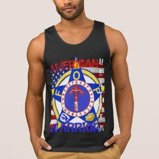 Amerikanisches heidnisches--Polizei Tank Top